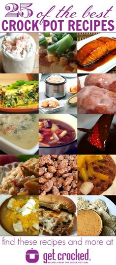 25 of the Best Crock Pot Recipes – from GetCrocked.com