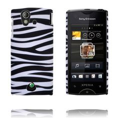 Safari Fashion (Horizontal Zebra) Sony Ericsson Xperia Ray Cover