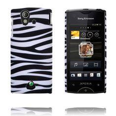 Safari Fashion (Horisontal Sebra) Sony Ericsson Xperia Ray Deksel