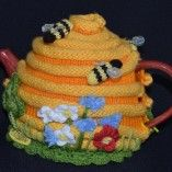 Bee Hive Tea Cosy Pattern | T-Bee Cosy