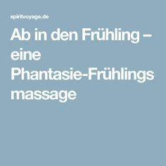 Ab in den Frühling – eine Phantasie-Frühlingsmassage – kindergarden Massage, Keto Diet For Beginners, Holiday Cocktails, Abs, Told You So, Fantasy, School, Yoga For Kids, Art Therapy Children