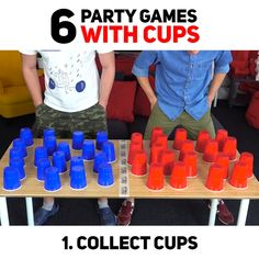 Family Party Games, Fun Party Games, Adult Party Games, Christmas Party Games, Diy Games, Family Game Night, Drinking Games For Parties, Indoor Games For Kids, Youth Games