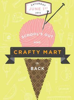 Crafty Mart 2013, June 1st in Akron Ohio