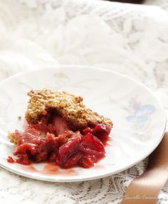 Suvelle Cuisine: Crumble de Morangos e Cerejas
