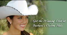 Barbara's Custom Hat Shaping - Show Horses for Sale Custom Cowboy Hats, Western Hats, Custom Hats, Show Jackets, Horses For Sale, Show Horses, Get The Look, Ireland, Stitching