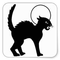 Halloween Black Cat & Moon - 9