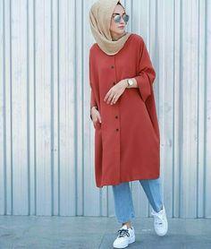 30 Beautiful Styles of Hijab Fashion Trend 2017 ! - hijab tips - 30 Beautifu. 30 Beautiful Styles of Hijab Fashion Trend 2017 ! – hijab tips – 30 Beautiful Styles of Hij Islamic Fashion, Muslim Fashion, Modest Fashion, Modest Outfits, Fashion Outfits, Hijab Elegante, Hijab Chic, Casual Hijab Outfit, Hijab Dress