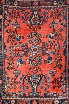 US Saruk 'Pushti' (Signed),, US Saruk 'Pushti' (Signed), Persia, circa 1900, wool/cotton, approx. 78 x 57 cm