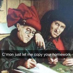 Renaissance snapchat