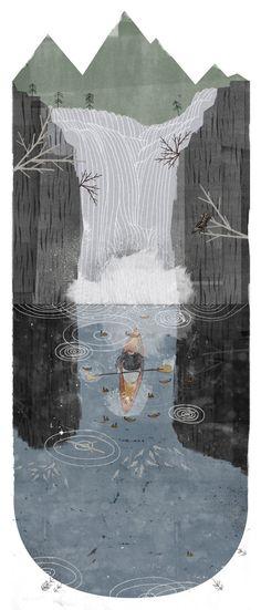 Falls - Rich Gemmell Illustration