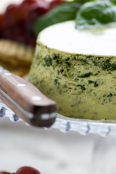 Vegan Smoky Pesto Cashew Cheez by An Unrefined Vegan