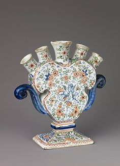 Tulip Vase - Dutch, (19th century)