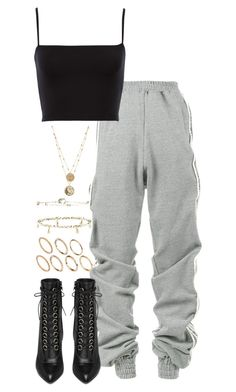 """Untitled #5506"" by theeuropeancloset on Polyvore featuring Y/Project, Yves Saint Laurent and Pieces"