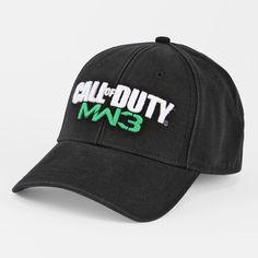 Call of Duty Modern Warfare 3 Logo Hat I Designed for Bioworld. Available  at Shopko f7f35e739d75