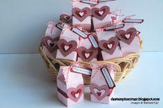 stampin up valentine projects milk    Valentine Milk Carton Favours