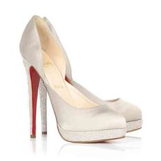 Christian Louboutin Shoes Wedding Shoes Stain Almond Toe