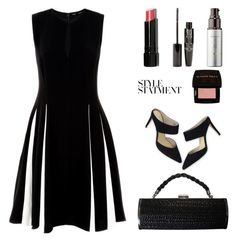 """The Dress"" by mcheffer ❤ liked on Polyvore featuring Proenza Schouler, KOVA, Boden, Sunday Riley, Bobbi Brown Cosmetics, TheBalm and dress"