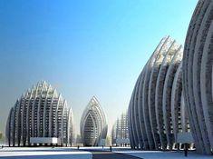 Putrajaya, Malaysia - Waterfront Precinct 4 #CoolBuildings