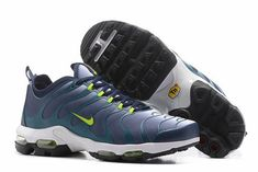100% authentic 73c96 e99ea Wholesale Nike Air Max Plus Tn Ultra Dark Blue Green Mens Running Shoes  Sneakers 881560 412