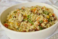 Couscous, Fried Rice, Grains, Favorite Recipes, Meals, Ethnic Recipes, Kitchen, Food, Quinoa