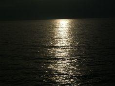 Moon light water....Lake michigan