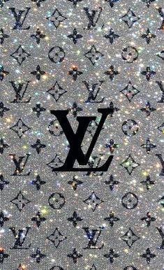Lv Logo ; Lv   Glitter Wallpaper, Edgy Wallpaper