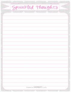 Free printable recipe template: DIY recipe book! A4