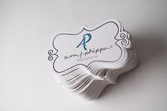 die cut tags, branding for photographers, packaging, letterpress tags, logo
