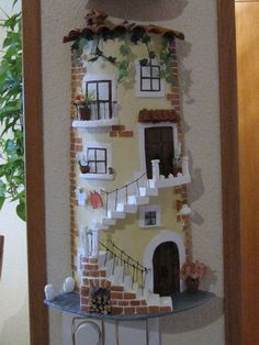 1 million+ Stunning Free Images to Use Anywhere Clay Fairy House, Fairy Garden Houses, Bottle House, Diy And Crafts, Arts And Crafts, Doll House Crafts, Tile Crafts, Clay Fairies, Free To Use Images