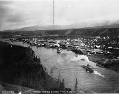 Whitehorse, Yn, everyday: Old Photographs of Canada from Dominion Day, Meanwhile In Canada, Old Time Photos, Yukon Territory, Happy Canada Day, Old Photographs, Vintage Photos, Alaska, Tours
