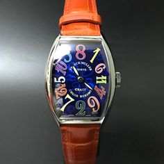 "12 Me gusta, 1 comentarios - Legacy Timepieces (@legacy_timepieces) en Instagram: ""Franck Muller Crazy Hours Color Dream. #watchporn #watchmania #wristwatch #watchoftheday #timepiece…"""