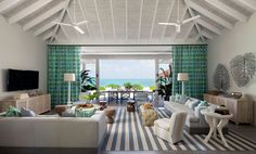9 of the Most Spectacular Hotel Residences on the Planet Photos   Architectural Digest Beautiful Villas, Beautiful Homes, Beautiful Places, Grace Bay Club, Caribbean Resort, Affordable Hotels, Holiday Resort, Luxury Accommodation, Luxury Hotels