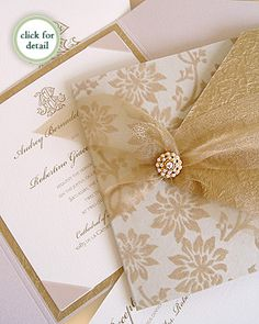 GOLD invitation!! from: http://www.carciofidesign.com/couture_invitation_montreal.html