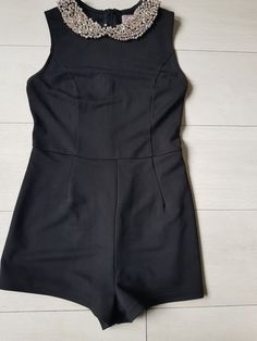 d6156ae3bd68 ladies black jump suit size 8  fashion  clothing  shoes  accessories   womensclothing  jumpsuitsrompers  ad (ebay link)