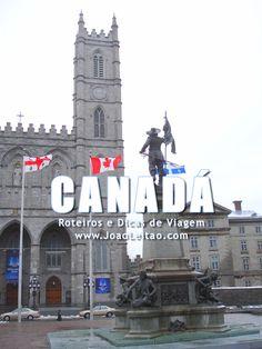Visitar Canadá: roteiros, guia de melhores destinos para viajar, fotos, transportes, alojamento, restaurantes, dicas de viagem e mapas.