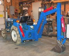 """Gallery - Category: Customers Pics: The """"Micro Hoe"""" for small tractors Tractors For Kids, Small Tractors, Compact Tractors, Kids Motorcycle, Motorcycle Shop, Motorcycle Seats, Motorcycle Jackets, Tractor Decor, Garden Tractor Attachments"""