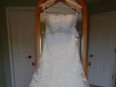 Mon Cheri David Tutera 113211 Anita: buy this dress for a fraction of the salon price on PreOwnedWeddingDresses.com