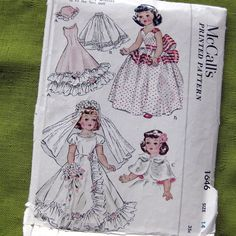 1950s Vintage Sewing Pattern  McCalls 1646  Toni by SelvedgeShop, $16.00