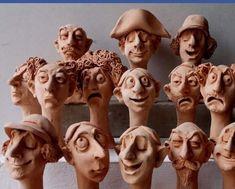 Sculptures, Fairy, Statue, Dolls, Portraits, Inspiration, Baby Dolls, Sculpture, Clay