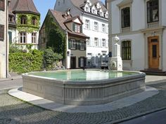 Lucerne, Switzerland, Fountain, Travelling, Trips, Mansions, House Styles, City, Places