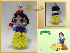 Baby Princess, Princesas Disney, Bead Crafts, Bead Weaving, Beading Patterns, Make Your Own, Seed Beads, Sculptures, Lettering