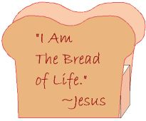 "jesus scripture writing | Jesus declared, ""I am the bread of life. He who comes to me will ne ..."