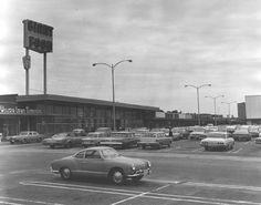 Northeast corner of Willow Lawn Shopping Center shows Willow Lawn Cleaners, Giant Food and Peoples Drug storefronts. Maker: Phil Flournoy C 1967 Giant Food, Falls Church, Richmond Virginia, Shopping Center, Home And Away, Historical Photos, Ghosts, Winchester, Vintage Photos