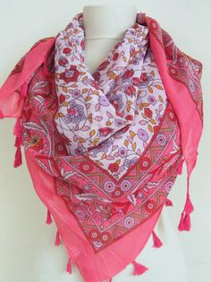 Love this Turkish scarf.