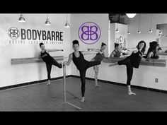 Grab your dumbbell and try not to curse us as you BURRRRRN at the Barre with Paige! This incredible BodyBarre series will work your glutes, thighs, and did . Cardio Barre, Pilates Workout, Butt Workout, Barre Fitness, Pop Pilates, Pilates Yoga, Pilates Reformer, Fitness Tips, Easy Workouts