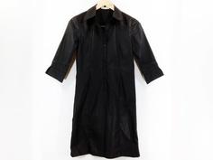 L440 Maple House ブラック七分袖ワンピース☆Mサイズ