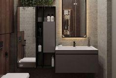 42 Super Creative DIY Bathroom Storage Projects to Organize Your Bathroom on a Budget - The Trending House Rustic Bathroom Vanities, Bathroom Faucets, Modern Bathroom, Small Bathroom, Bathroom Styling, Bathroom Interior Design, Rustic Toilets, Yellow Bathrooms, Bathroom Trends