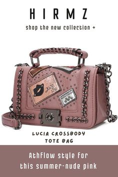 Lucia is a simple nude pink crossbody handbag that gives everything to match your perfect look. #summercrossbodypurse #cutecrossbodybags #brownpursecrossbody #smallcrossbodybag #everydaypurse #fashionpurses Cute Crossbody Purses, Brown Crossbody Purse, Crossbody Clutch, Small Crossbody Bag, Trendy Purses, Unique Purses, Summer Purses, Black Purses, Look Fashion