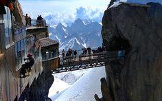 """Aiguille du Midi Bridge"" Student Photo in Chamonix-Mont Blanc, France"