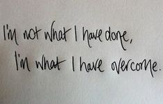 """""""I'm what I have overcome"""" by Fireflight. I LOVE this sooooooo much! Such an inspiring quote!!"""